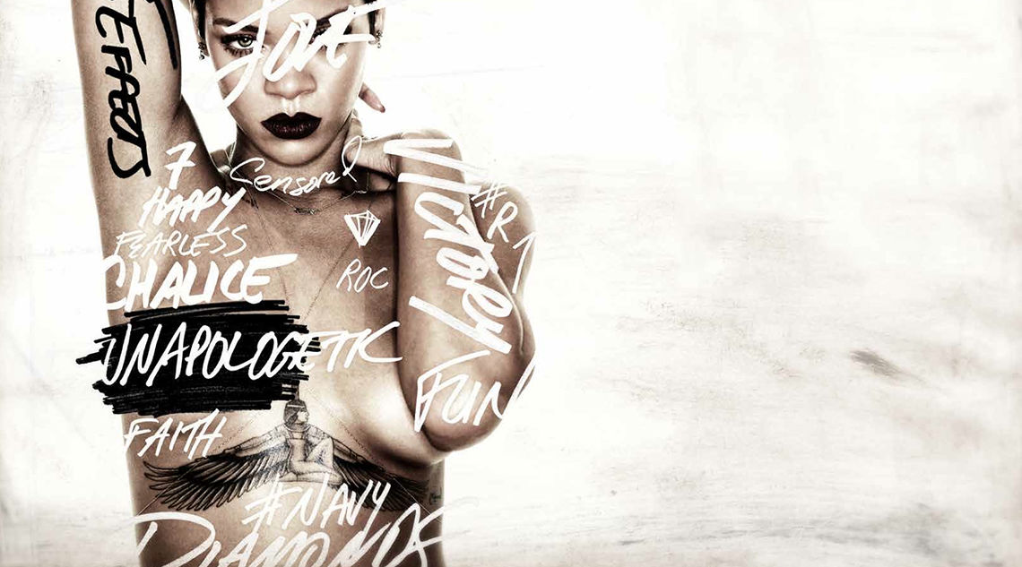 Developed Rihanna's Album Launch Campaign Microsite
